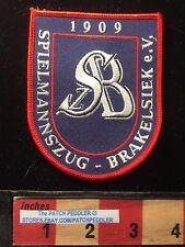 German MUSIC CLUB Patch Germany SPIELMANNSZUG BRAKELSIEK e.V. 62K6