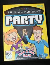 Hasbro Gaming Trivial Pursuit Party Fast & Fun Trivia  A5224