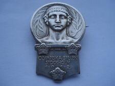 V. Raro olympiska spelen Stockholm 1912 Juegos Olímpicos sueco insignia de los competidores