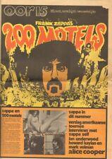 OOR 1971 15 FRANK ZAPPA 200 MOTELS Elly & Rikkert ALICE COOPER Anneke Konings