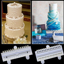 DIY ABS Bead Cutter Pearl Candy Fondant Cake Gum Paste Mould Decorating Mold