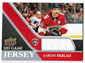 20/21 2020 UPPER DECK SERIES 1 HOCKEY UD GAME JERSEY CARDS GJ-X U-Pick From List