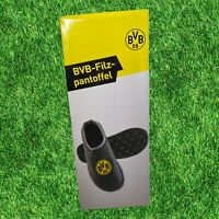 Official Dortmund Slippers Bvb Dortmund Football MERCHANDISE Size 4/6 EUR 36/37