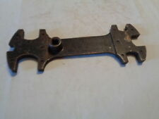 """VINTAGE 8-1/4"""" AIRCO USA 7 size MULTI WRENCH WELDING TANK SPECIALTY TOOL 8090028"""