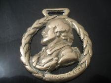 Vintage Shakespeare In Wreath - Horse Brass