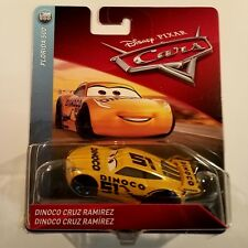 Disney Pixar Cars 3 Cruz Ramirez Dinoco # 51 Diecast Mattel 1:55 Scale New 2018