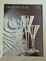 1986 Glass Review Moser Stanislav Libensky Pavel Hlava Jan Fisar Mares Forejtova