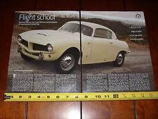 1954 FIAT 1100 TV BERTONE COUPE - ORIGINAL 2011 ARTICLE