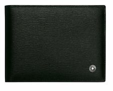 Montblanc Westside Black Leather Wallet 6CC 38036