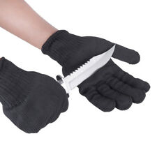 1pair Working Gloves Protective Cut-Resistant Anti Abrasion Army-Grade