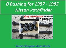8 Bushing for 1987 1988 1989 1990 1991-1995 Nissan Pathfinder Rear Trailing Arms