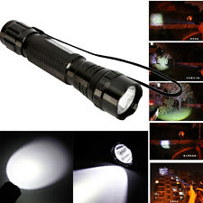 New 10000Lumen T6 5W XML T6 LED 5 Mode Flashlight Torch Lamp for Camping Hiking