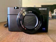 *Mint* Sony Cyber-shot Dsc-Rx100 Iii 20.1 Mp Digital Slr Camera w/ Extras!