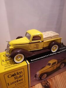 Dodge 1936 lumber delivery Bank 1/25 scale. Diecast metal. By Liberty classic