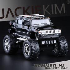 1:40 Scale Hummer H2 SUT BigFoot Monster Diecast model Pullback Door Open Black