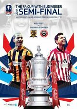 Hull City FA Cup Home Teams F-K Football Programmes