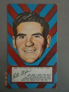 BILL STEPHEN -( FITZROY)- 1953 ARGUS FOOTBALL PORTRAIT ( No. 29 ) - EXCELLENT