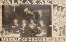 RPPC Alkazar, Hamburgs Grossballhaus Variété Germany ca 1930s Vintage Postcard