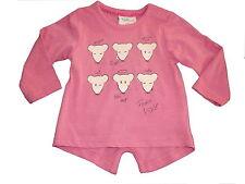 NEU Topolino süßes Langarm Shirt Gr. 86 rosa mit Glitzermaus Motiven !!