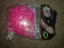 bright pink  loom bands