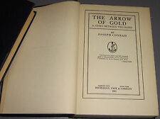 THE ARROW OF GOLD by JOSEPH CONRAD 1925 hc