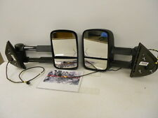 Factory OEM GM Extendable Heated Power Trailer Tow Towing Mirror Left Right Set