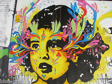 Australian Seller custom art painting graffiti girl  STREET ART 1200mm x 800mm