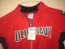 OLD NAVY RED & BLACK MICRO PERFORMANCE FLEECE SIZE 4T 1994 LOGO