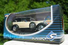 SOLIDO 1/43 METAL FIAT 521 DECOUVRABLE beige  4157!!