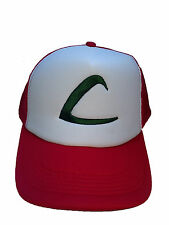 Pokemon ASH KETCHUM Cap Pokemon Style Hat Embroidered Character Hat