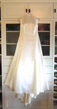 *BEAUTIFUL SCOTT McCLINTOCK HALTER-STYLE WEDDING DRESS* SIZE 14