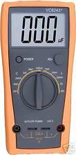 Nouveau 3 1/2 numérique grande LCD LC compteur 2000uf 20h vc6243