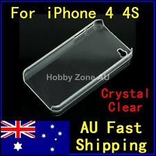 iPhone 4 4S 4G Case Ultra Clear Crystal Hard Slim Cover for Apple iPhone