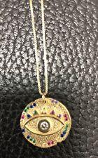 Sphera Milano Large Evil Pendant Necklace