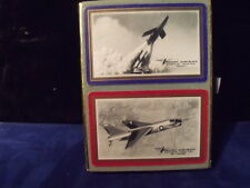 Chance Vought Aircraft Playing Cards Congress Early Jets Used Free Shipping