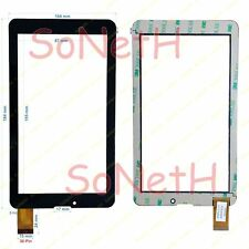 "Vetro Touch screen Digitizer 7,0"" Mediacom SmartPad 720M M-MP720M 3G Tablet Nero"