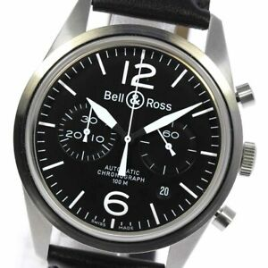 Bell&Ross vintage BR126-94 Chronograph black Dial Automatic Men's Watch_630478