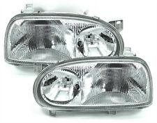 headlight set left right for VW GOLF 3 91-97 GT GTI VR6 DOKA H1