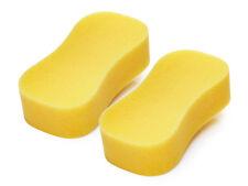 Jumbo Sponge 2 Pack Car Wash Cleaning Soft Twin Pair Valeting Durable Washing