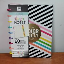 Happy Planner Medium Notebook With60 Sheets Live Colorfully Graph 673807611948