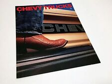 1989 Chevrolet S-10 Blazer Astro Sportvan Suburban Trucks Preview Brochure