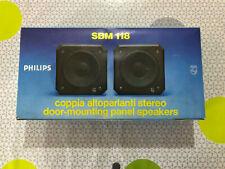 ALTOPARLANTI D'EPOCA - PHILIPS SBM 118 (2° coppia)