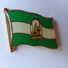 Andalusien Flaggenpin,Flag,Pin,Anstecker,Andalucia