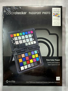 NEW SEALED X-Rite ColorChecker Passport Photo MSCCPP
