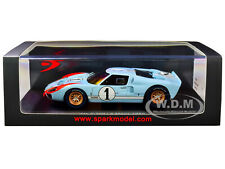 FORD MK II #1 2ND PLACE 24H OF LE MANS (1966) 1/43 MODEL CAR BY SPARK S4075