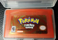 Pokémon: Pokemon FireRed Version (Nintendo Game Boy Advance, 2004) (US Seller)