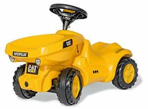 rolly toys CAT Construction Ride-On Front-Tipping/Dumping Tractor Youth Ages ...