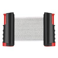 Verstellbar Tischtennisnetz Ausziehbar 5cm Klemmen Tischtennisplatte 190X15cm