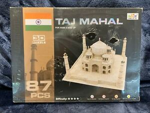 Taj Mahal (India) 87 Pieces 3D Jigsaw Puzzle Brand NEW Sealed