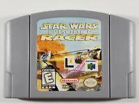 ¤ Star Wars Episode I Racer ¤ (Game Cart) Good! Nintendo 64 N64 Authentic